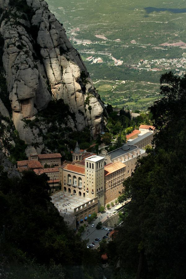 Montserrat Monastery, Barcelona #spain #travel #building #church