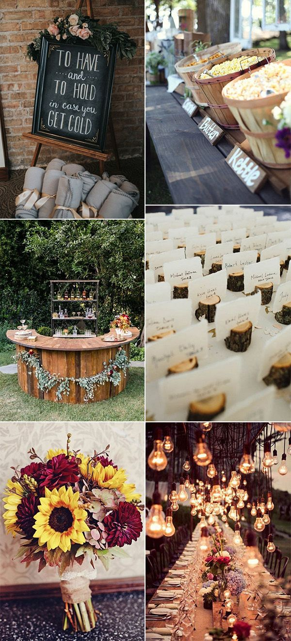 Fall Wedding Decor Ideas We're Loving