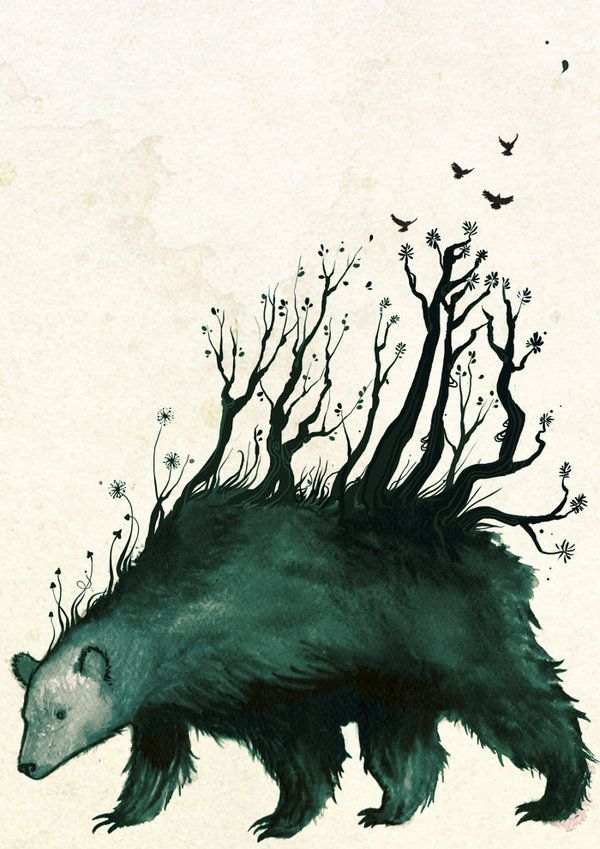 """the spirit of the bear """"In Finnish mythology Otso, Ohto, Kontio, metsän kuningas (the king of the forest), and mesikämmen (honeypaws) are some of the many rarely uttered circumlocutory epithets for the spirit that was never directly named. Generally, the spirit of the bear was referred to as friend, brother,uncle, or forestcousin, or ways were thought up that would bypass the need to refer to the spirit at all, even indirectly."""""""