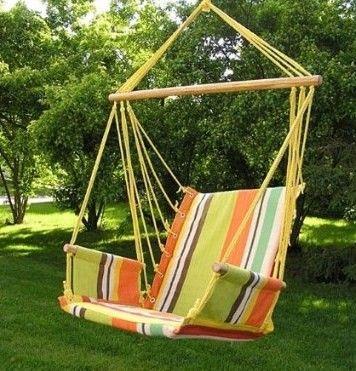 Deluxe Hanging Hammock Swing Chair