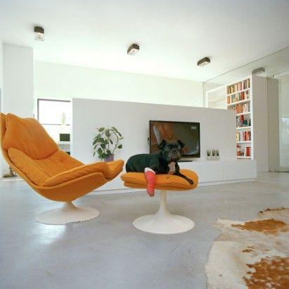 loungezetel van Artifort, Pierre Paulin
