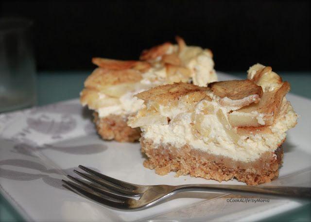 Cheesecake rustique aux pommes