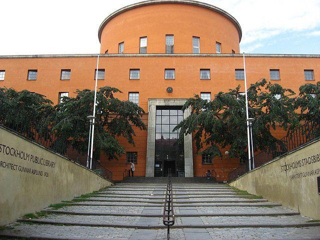 Stockholm Public Library | Gunnar Asplund | Stockholm, Sweden (1928)