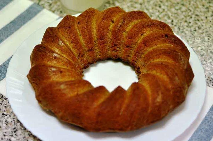 La receta de hoy es un clásico que te irá bien en múltiples ocasiones, un delicioso bizcocho casero sin azúcar, apto para diabéticos!