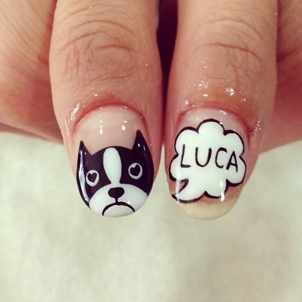 Idk if this says lukea ( looka) or lucka. But if its lukea then I love it because Luke's nickname is lukeaaaaaa