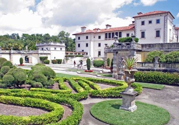 Vizcaya, Miami, Florida: American Mansions, Marble Floor, Beautiful Mansions, Gorgeous Gardens, Beautiful Homes, European Inspired Gardens, Miami, America S Mansions