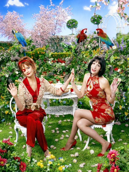 With Ellen Greene on Pushing Daisies