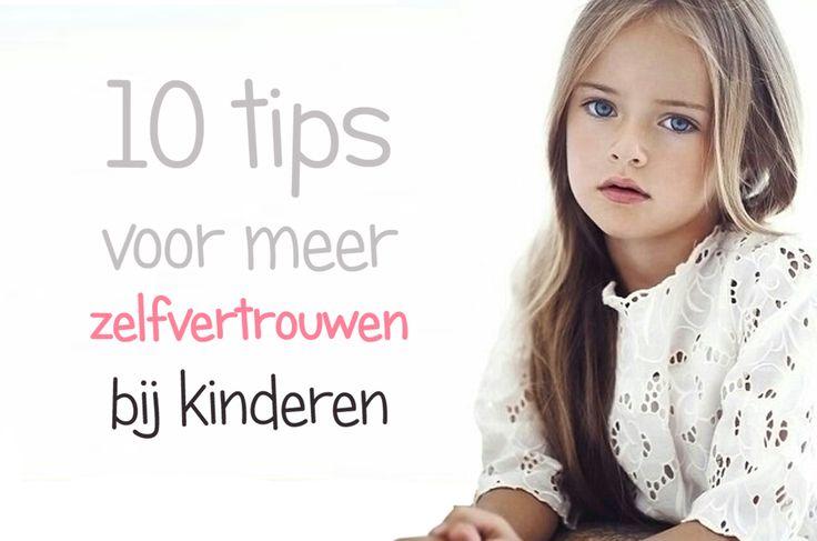 Tien tips voor meer zelfvertrouwen bij kinderen