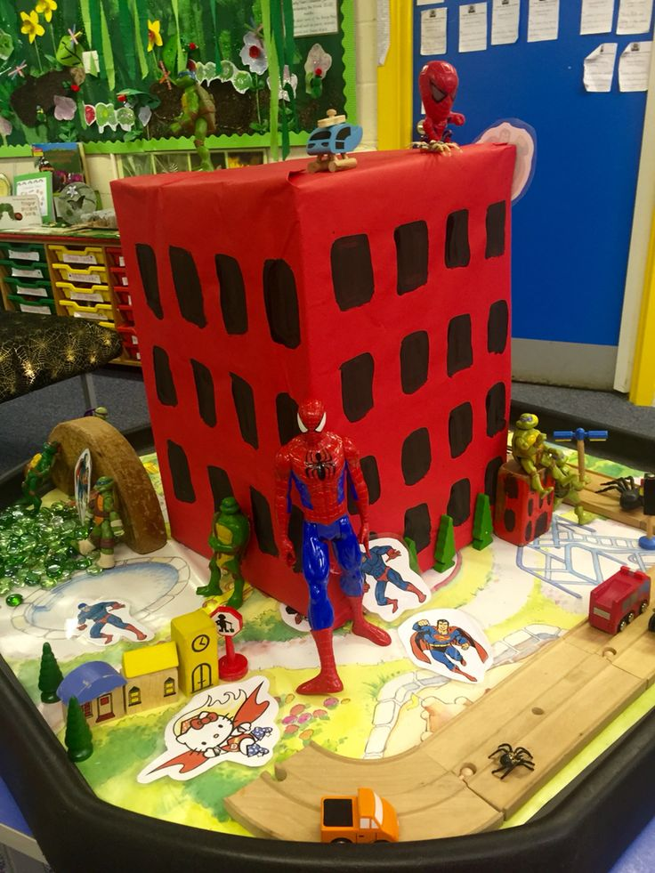 Spider man small world play