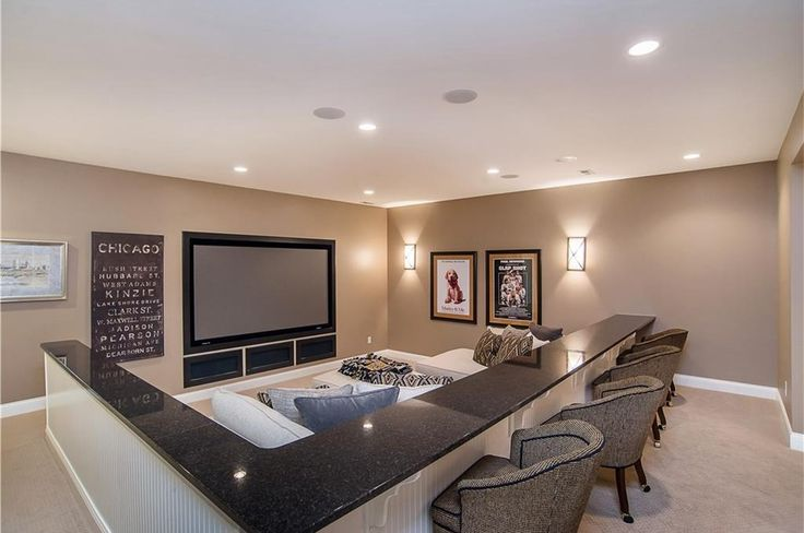 Traditional Home Theater with Carpet, 14 sq. ft. Cape Cod MDF Beadboard Planks, High ceiling, Chase Wall Sconce, Wall sconce