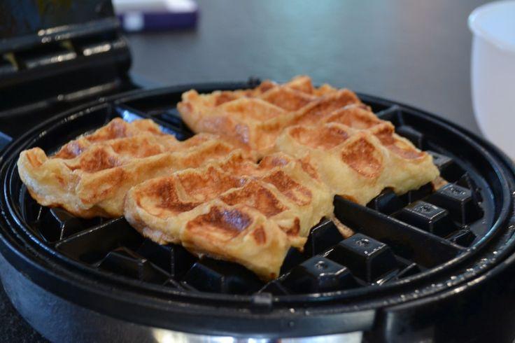 French Toast Waffles with King's Hawaiian Rolls