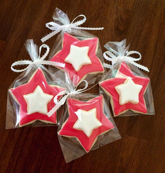 American Girl star Cookies perfect party by AmbersPartyCookies