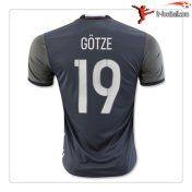 Maillot de foot equipe de Allemagne GOTZE 19 2016 2017 Exterieur