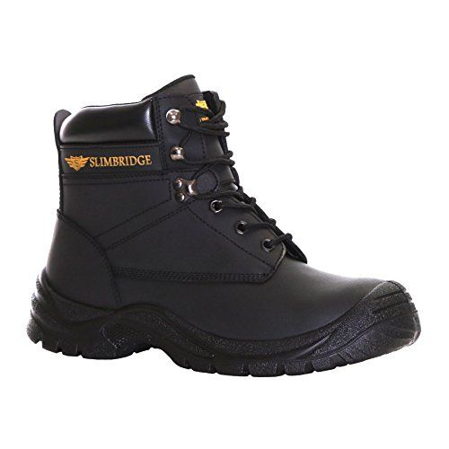 From 19.99 Slimbridge Velbert Size 9 Steel Toe & Midsole Safety Boots Black