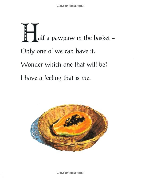 Poem from 'Fruits: A Caribbean Counting Poem' by Valerie Bloom ...