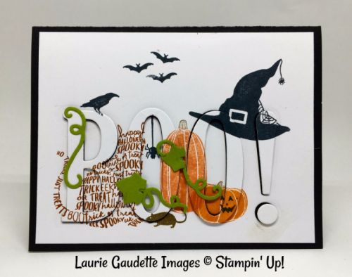 Stampin' Up! Halloween Eclipse Card