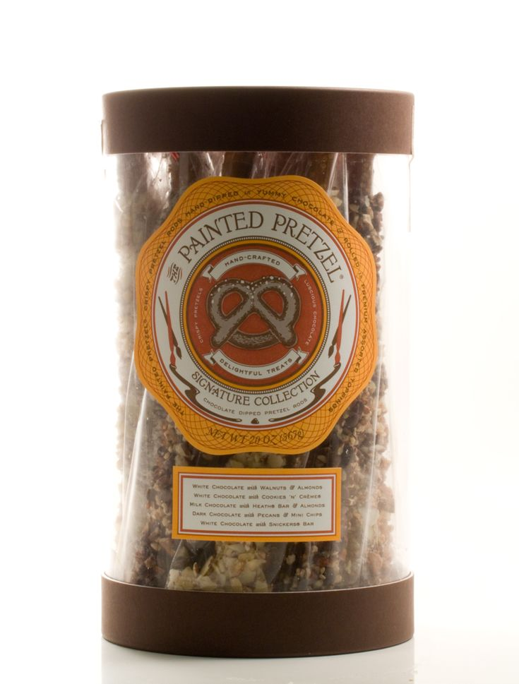 Painted pretzel