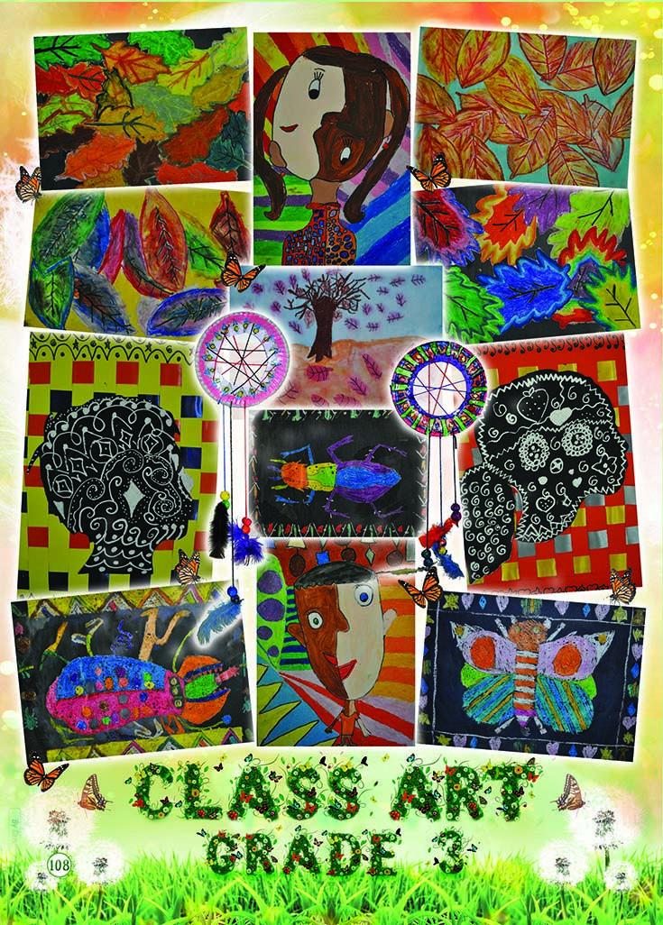 Yearbook Theme: Ecosystem - Art (butterflies)