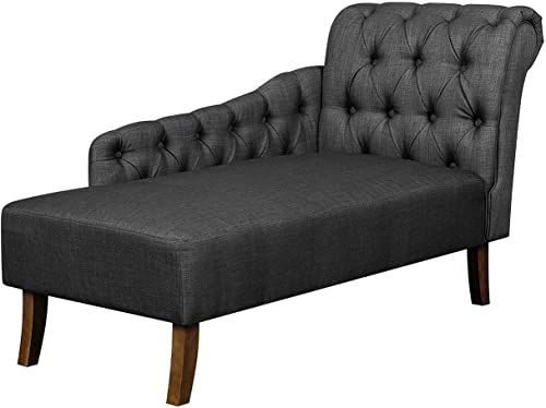 Amazing offer on Ravenna Home Classic Tufted Chaise Lounge ...
