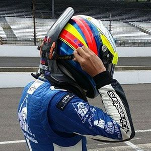 We Want One of These Flashy Custom-Painted IndyCar Helmets