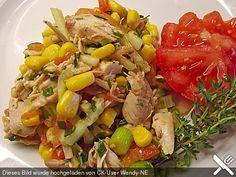 Herzhafter Hähnchensalat (Rezept mit Bild) von engel_co | Chefkoch.de