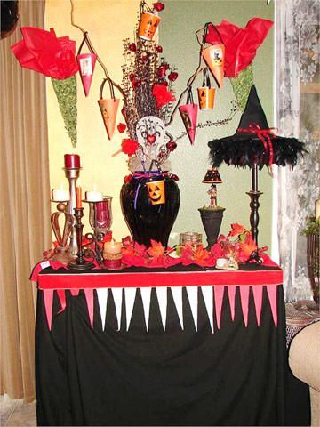 redblackscene Daily Halloween Decorations in 2018 Pinterest