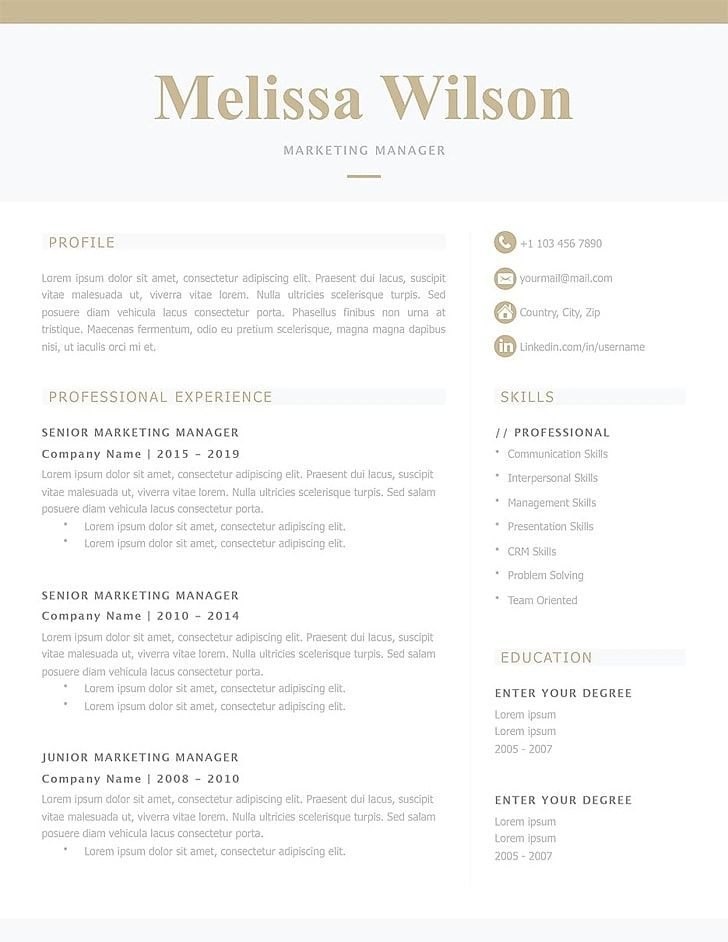 Classic Resume Templates Make Your Resume Stand Out Resumeway Good Resume Examples Resume Templates Resume Template