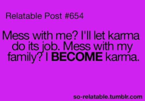 Karma.