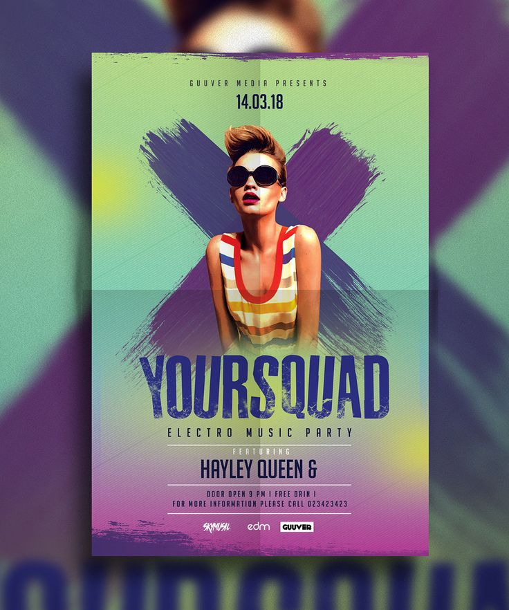 70 best Flyer images on Pinterest Flyer template, Party flyer - emerald flyer template