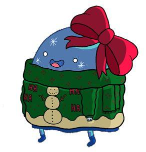 Christmas Adventure Time sweater