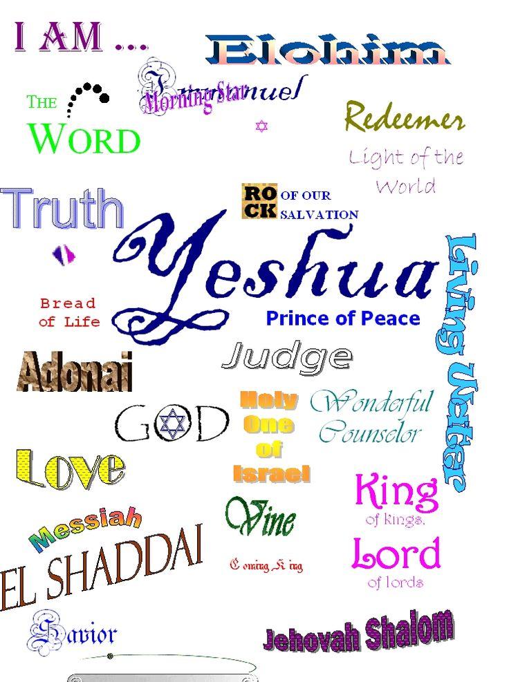 Yeshua Menorah | Bibelens vitnesbyrd om hvem Herren Jesus Kristus er :