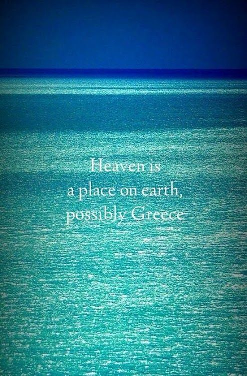 https://www.facebook.com/PoseidonHolidaysAndTours?ref=hl Heaven is a Place on Earth, possibly Greece