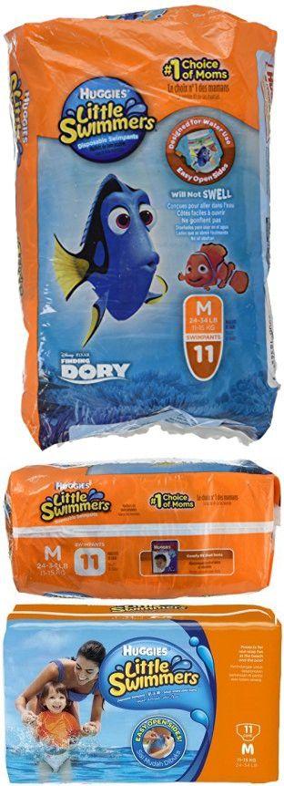 Huggies Little Swimmers Disposable Swimpants, Medium, Pack/11