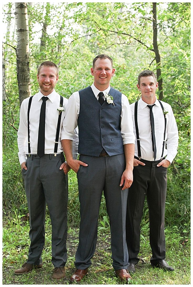 suspenders groomsment attire // Photography: Prairie and Pine Studios