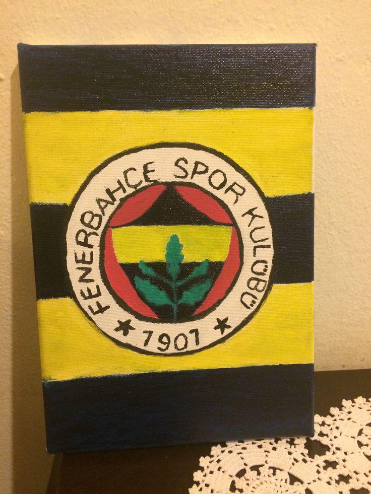 Fenerbahçe yağlı boya