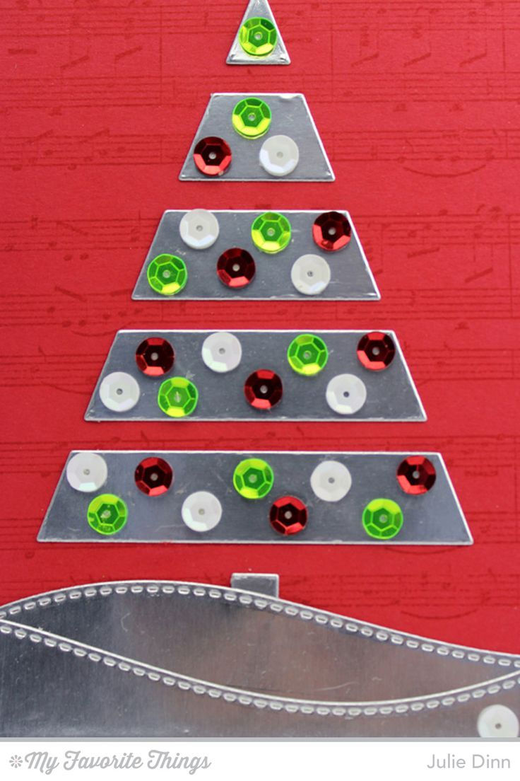 18 best mft christmas tree cutout die namic images on pinterest