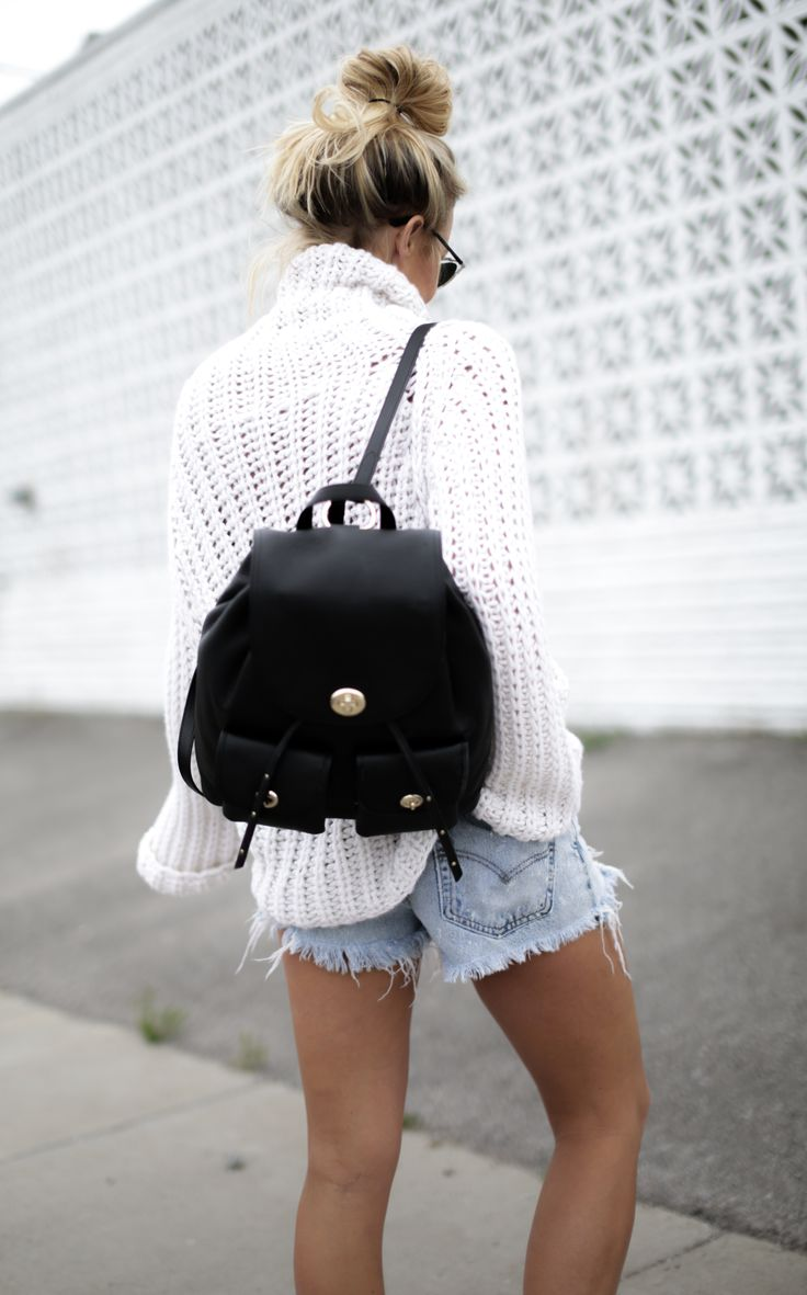 ALL IMAGES JOHN HILLIN IRIS VON ARNIMKNIT(SIMILAR HERE &HERE) | LEVIS 501 CUTOFFS (NEWER STYLE) | COACH BACKPACK | MAJE SNEAKERS | BANDANA ANKLET -VINTAGE | DIOR EYEWEAR It's officiall…