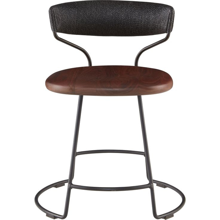 Danish Cord Swivel Dining Chair - Contemporary Furniture - Dering Hall