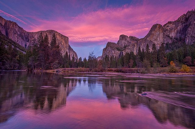 Valley View in Pink II -