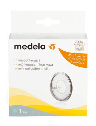Ainu Medela Maidonkerääjä kerää talteen maidon, joka tihkuu lapsen imiessä toista rintaa tai rintapumppua käytettäessä. http://www.ainu.fi/tuotteet/ainu-medela-maidonkeraaja