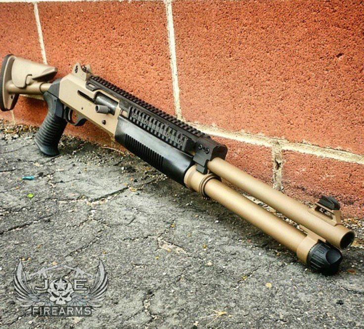 Benelli tactical shotgun