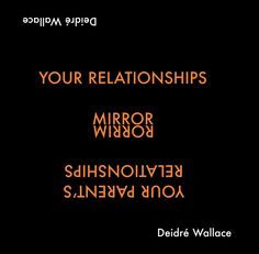 A great article published by Psychodynamic Relationship Therapist Deidre Wallace about how we choose our relationships based on our parent's relationships. It's true, I look for men who are hard working, supportive and make me a priority, like my father does for my mom.