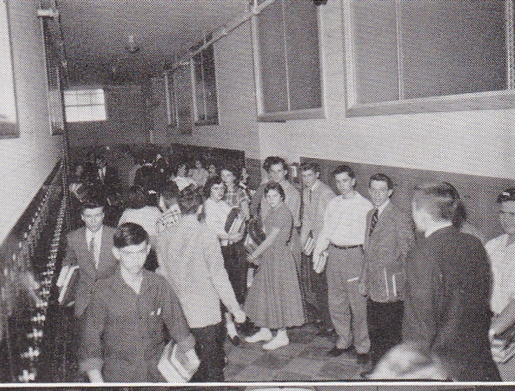 By the lockers 1955.