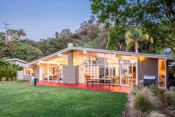 Mid Century Modern House Exterior Paint Colors