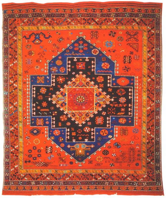 Turkish Tribal Rugs | Turkish village rug from the DOBAG collective.