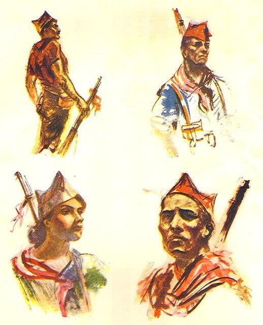 Milicianos SCW