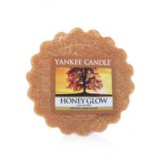 yankee candle Honey Glow tartelette : Déco et Bougies > Tartelettes