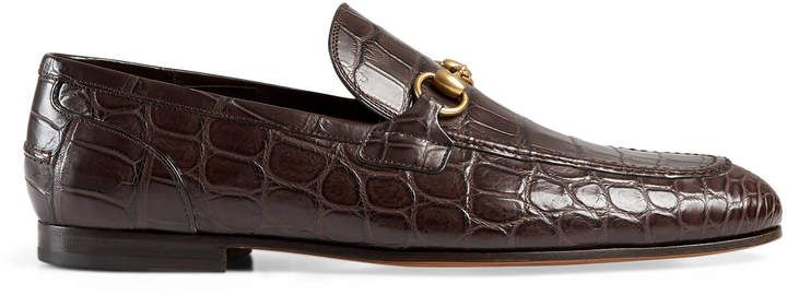 f5033f585ed Gucci Jordaan crocodile loafer Gucci  ShopStyle  MyShopStyle click link to  see more information