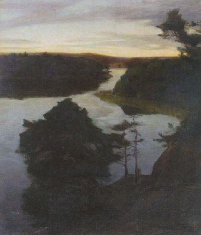 Prince Eugen 'Night Study' 1899
