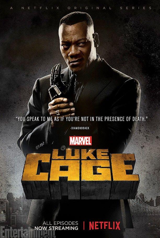 luke cage characters posters | Diamondback